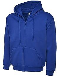 UC504 - Adults Classic Full Zip Hooded Sweatshirt (300 GSM) - Royal - XXXXL Large