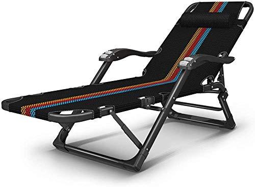 NO BRAND Tumbonas Jardin Silla Plegable Espesar Relax sillón de ...