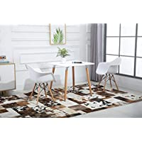 Mahmayi Dining Table and Arm Chair Set - White