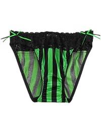 aimerfeel Sexy Ruffles-Stripy brève en différentes couleurs, taille S, M