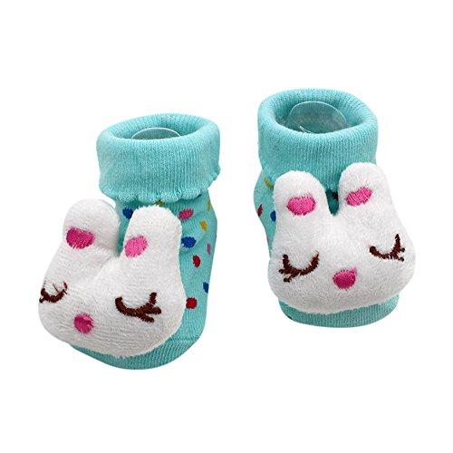Covermason Kleinkind Baby Karikatur Anti-Rutsch Sock Schuhe Stiefel Für 0-12 Monate M