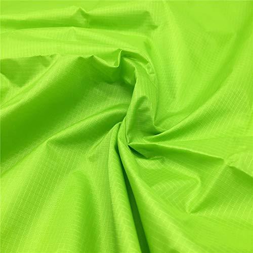 zaione 14Farben, die Yard Breite 149,9cm Ripstop-Gewebe wasserabweisend wasserabweisend Material Staubfrei, PU-Beschichtung Stoff für Kites Flagge Plane, Tisch Tuch Nähen Patchwork lindgrün