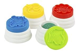 Color Baby - Pack con 4 Botes de plastilina (36358)