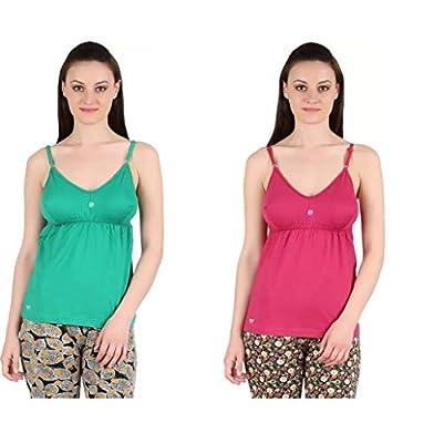GMR Women's/Girls Camisole Bra Slip Combo Pack of 5 (80,85,90,95,100 cms)…