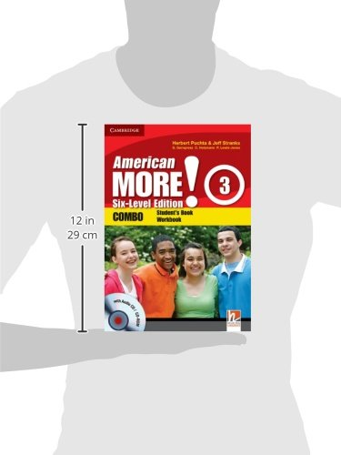 American More! 3 Six-Level Edition Combo with Audio CD/CD-ROM - 9780521280990