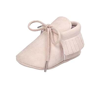 Culater® Culla nappe Bandage morbida suola scarpe da tennis dei pattini casuali (11, Beige)