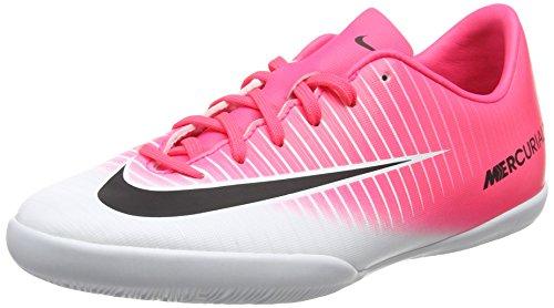 Nike Unisex-Kinder Jr Mercurialx Vapor Xi Ic Fußballschuhe, Pink (Racer Pink/Black White White), 36.5 EU (Vapor Racer)