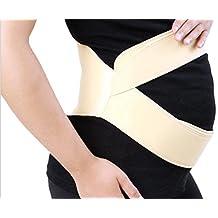 WDBS Estómago embarazada levantar peces feto prenatal cinturón de maternidad soporte de cinta , 1 , xxl