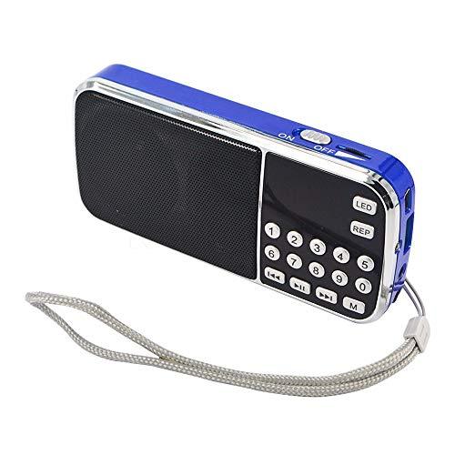 Radio Mini FM SD USB MP3 PORTÁTIL Recargable PRUNUS