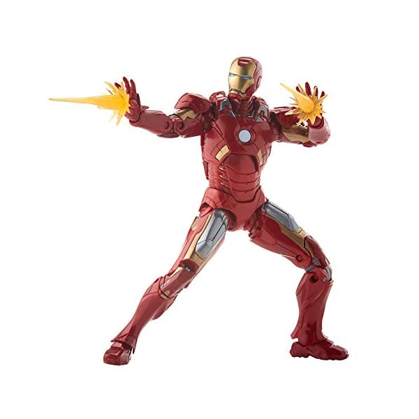 Marvel Legends MCU The First Ten Years The Avengers Iron Man Mark VII 4