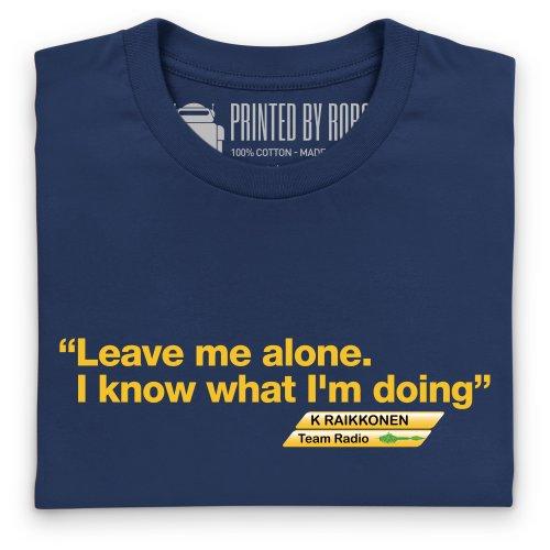 Kimi Raikkonen 3 T-Shirt, Damen Dunkelblau