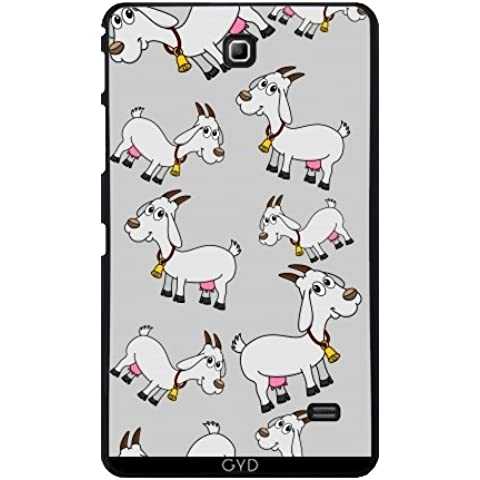 Funda para Samsung Galaxy Tab 4 (7 pulgadas) - Una Cabra Lechera Con Una Campana by zorg