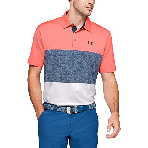 Under Armour Playoff Polo 2.0 Chemise Homme, Rouge (Blitz...