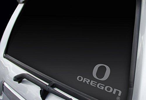 regon Ducks (O–Oregon) Profi Fenster Grafiken Aufkleber klein, chrom, 'Stolz hergestellt in den USA von NCAA (Oregon-duck-aufkleber)