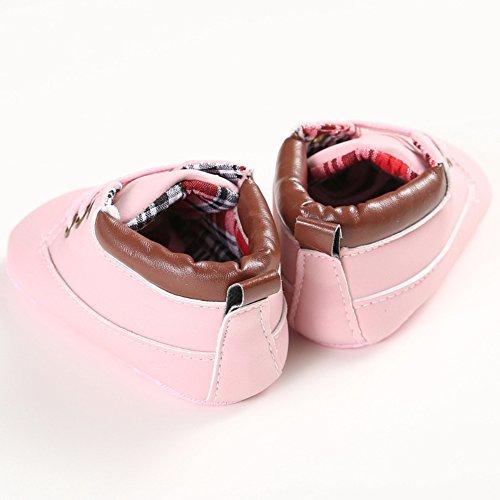 Sneakers Sneakers Baby Frog Lauflernschuhe Leap Hellrosa Jungen Frog Leap qv0UUt
