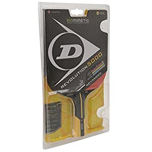 Dunlop Unisex Revolution 5000 Table Tennis Bat Sport Accessory Brand New Red One Size Review 2018 by Dunlop