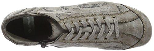Remonte R3452, Sneakers Hautes Femme Gris (Cigar/schwarz / 25)