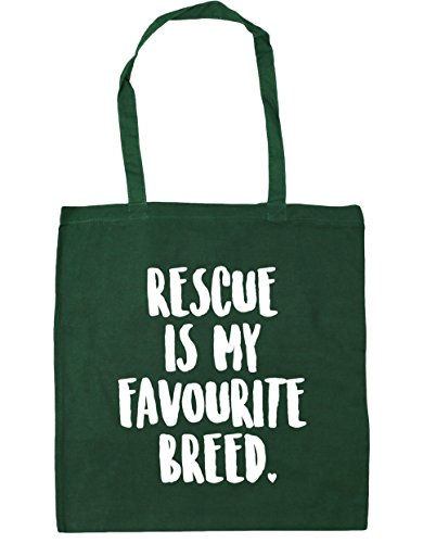 hippowarehouse-rescue-is-my-favourite-breed-tote-shopping-gym-beach-bag-42cm-x38cm-10-litres