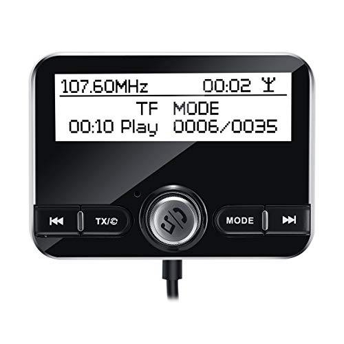 Wooya LCD Car Dab Receiver Tuner Adapter Bluetooth Transmitter + Antenne