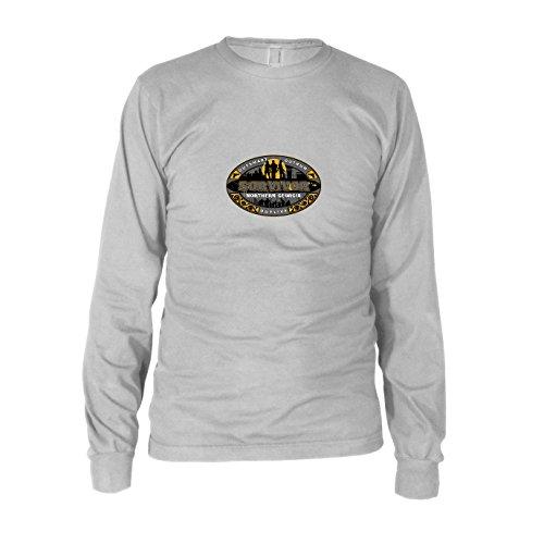 TWD: Survivor - Herren Langarm T-Shirt, Größe: XXL, Farbe: weiß
