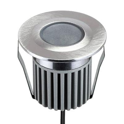 LED Einbauleuchte 12V, outdoor, warm weiß, Boden, Aluminium, Terasse, von parlat von LEDs Com GmbH bei Lampenhans.de