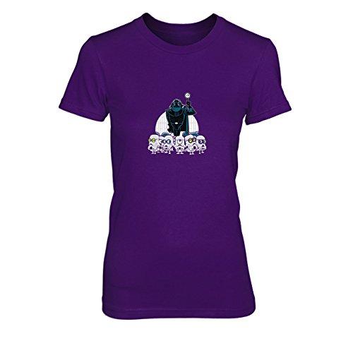 Despicable Empire - Damen T-Shirt, Größe: XL, Farbe: lila