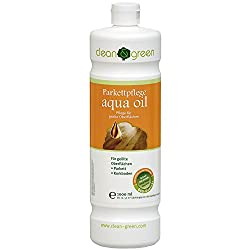 clean & green parquet care aqua oil 1,0 l