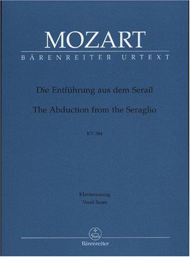 Enlèvement au Sérail KV 384 --- Chant(SATB)/Piano