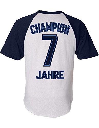 Geburtstags Shirt: Champion 7 Jahre Junge - Geburtstags T-Shirt 7 Jahre Kind Jungen - Geschenk Zum 7. Geburtstag - Junge T-Shirt 7 Geburtstag - Geburtstag-Shirt Kinder 7 (122/128 (7-8 Jahre))