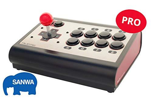 Konsole und Controller Arcade PS4, PS3, PC und Raspberry: RasPi Arcade Stick Pro - SANWA (8 bits PRO Edition)