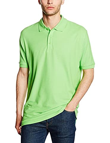 Fruit of the Loom SS035M, Polo Homme, Vert Anis, S