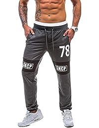 de Pantalons Survêtement Collant Hommes Trousers Casual Jogging Liquidation LIN Pant Vintage Comfy Poignets ZaqTOHZ