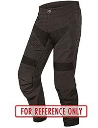 ENDURA Single Track Trouser (Resistente, Impermeable Pantalones), Color Negro, tamaño Extra