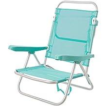 Silla Baja con Brazos de Playa Pop de Aluminio Verde Garden - LOLAhome