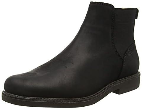 Sebago Turner, Men's Ankle Boots, Black (Black Leather Wp), 10 UK (44.5 EU)