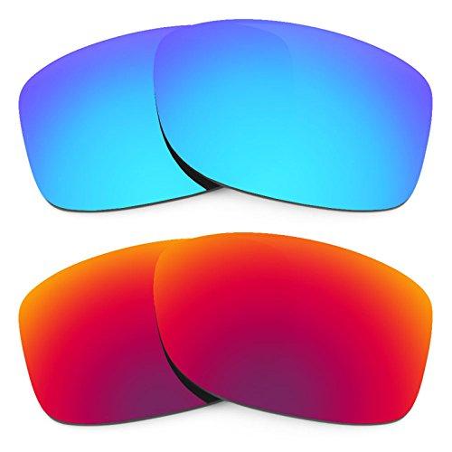 Revant Ersatzlinsen für Oakley Jupiter Squared Polarisiert 2 Paar Kombipack K005