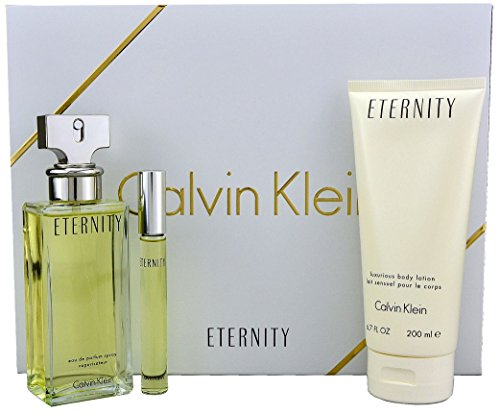 Calvin Klein CK Eternity Woman EDP 100ml + B/LOC 100ml + Mini EDP 10ml Set