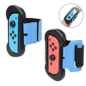 FYOUNG 2 Pack Dance Band für Just Dance 2020 2019 Nintendo Switch, für Just Dance Armband, elastisch, verstellbar, mit…
