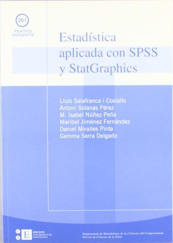 Estadistica Aplicada Con Spss (TEXTOS DOCENTS)