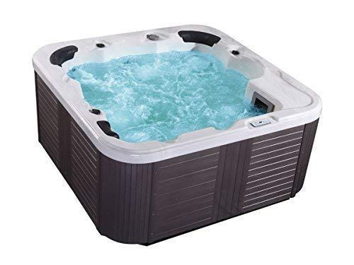 Outdoor Whirlpool Hot Tub Venecia color blanco con 44 MASAJE Boquillas