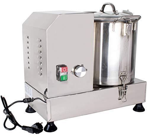 Beeketal \'CMT-9\' Profi Fleischkutter aus Edelstahl mit 8 Liter Volumen für bis zu 3 kg Brät, Geschwindigkeit stufenlos (ca. 1800-3600 U/Min) - ACHTUNG: II. Wahl Artikel wegen optischer Mängel