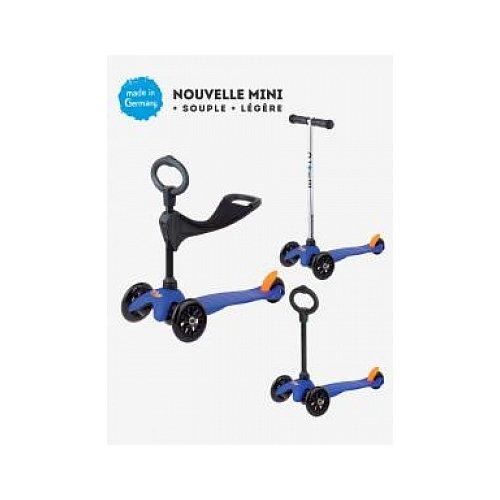 Micro MINI Kickboard blue avec le siège