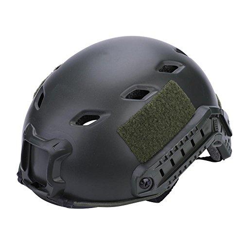 Schutzhelm Sturzhelm für Jagd Freizeit Militär, Taktische Helmüberzug Helm Abdeckung Tactical Helm für Airsoft Paintball Nahkampf Softgun (Armeegrün)