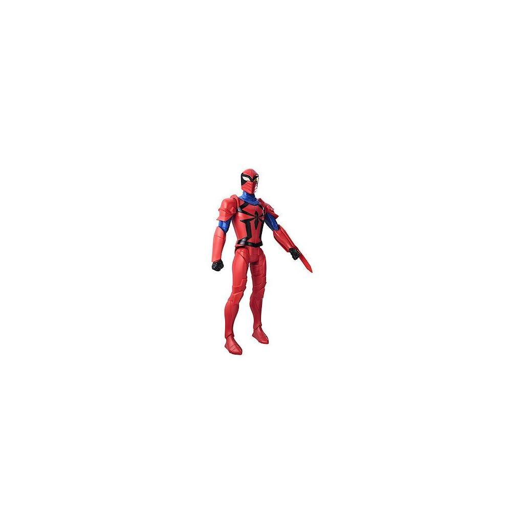 Hasbro Marvel Spider-Man Titan Hero Series Scarlet Spider Figure 1pieza(s) Multicolor Niño - Figuras de Juguete para… 1