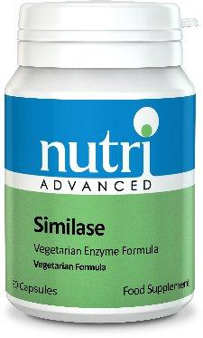 Nutri Advanced Similase Plant Enzyme Digestive Formula - 90 Capsules