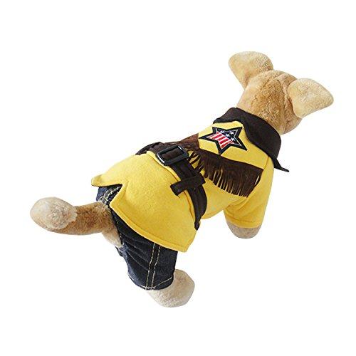 Evergreens Vier Beine Western Boy Style Pet Hunde Fell (Western Boy Kostüm)