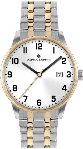 Alpha Saphir Herren-Uhren Quarz  Analog 313I