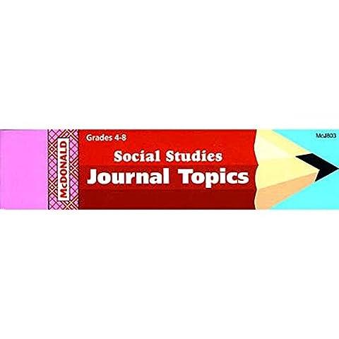 MCDONALD PUBLISHING MC-J803 Magazine Livret SCIENCES HUMAINES GR. 4-8
