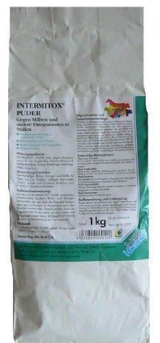 Intermitox Puder 1 kg - Bekämpfung von Ektoparasiten und Milben