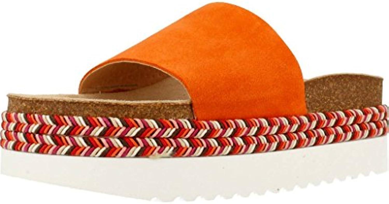 les sandales et et et les pantoufles de jaune, la couleur orange, marque, modèle des sandales et pantoufles pour femmes aria orange b07cpb65qy parent | Qualité Fiable  0f3453